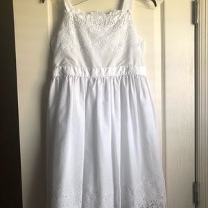 Other - Bloome white eyelet dress